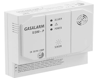 Funk Gasmelder für Alarmanlage von Blockalarm aus München, Starnberg, Weilheim, Tegernsee, Freising; Holzkirchen, Rosenheim