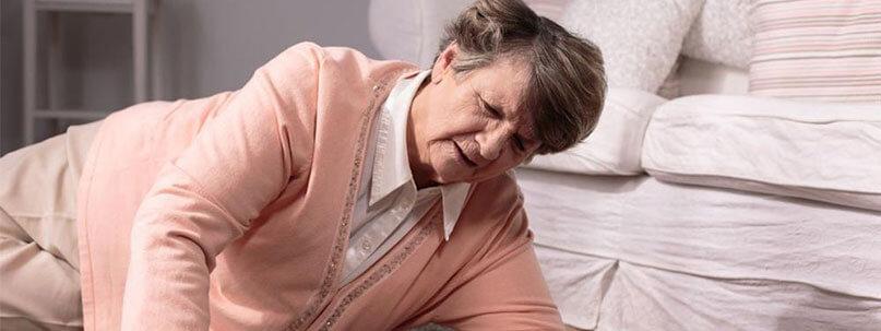 Oma gestürzt