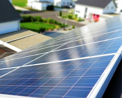 Solaranlage mit Diebstahlschutz