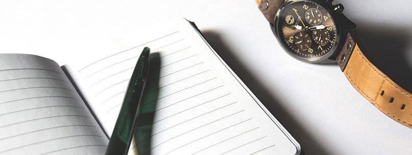 Checkliste leere Seite